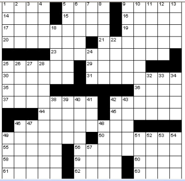 Crossword puzzle for Century plant crossword clue