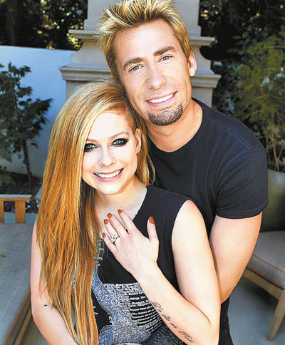 Avril Lavigne and Chad Kroeger allegedly married