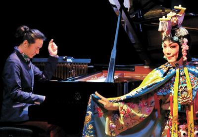 Article>Jazz pianist Luo Ning stretches musical borders</Article>