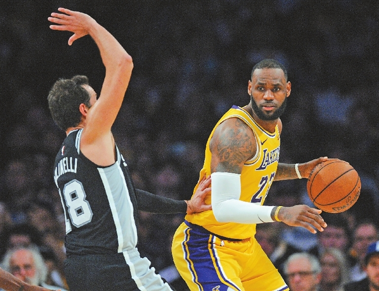 61abcae63 PATTY MILLS hit a go-ahead jumper with 6.8 seconds left and the San Antonio  Spurs kept the Los Angeles Lakers winless with LeBron James