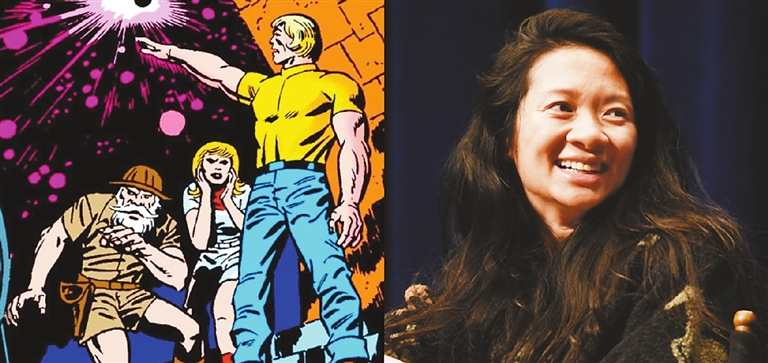 """4164eda234f Marvel Studios has hired U.S.-based Chinese filmmaker Chloe Zhao to direct """"The  Eternals"""" movie"""
